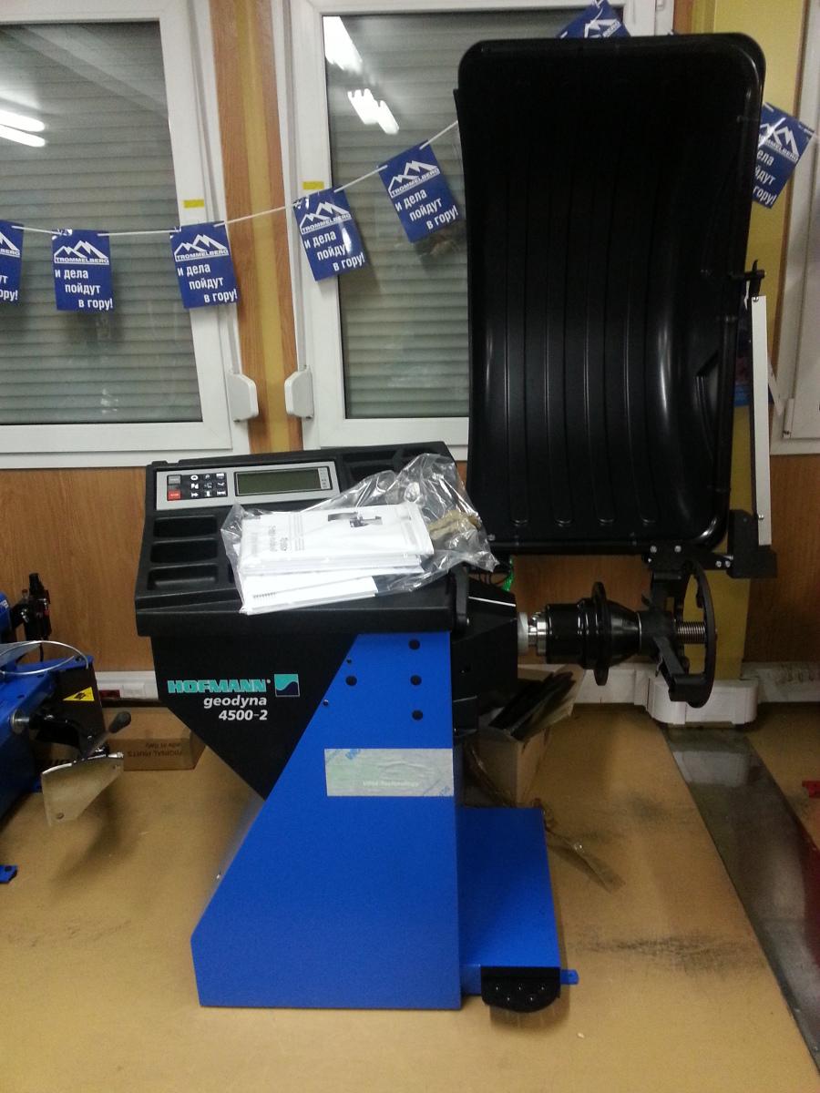 Шиномонтажное оборудование марки HOFMANN geodyna 4500-2