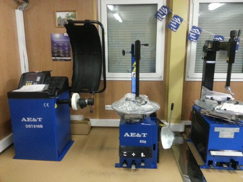 Шиномонтажное оборудование марки AET