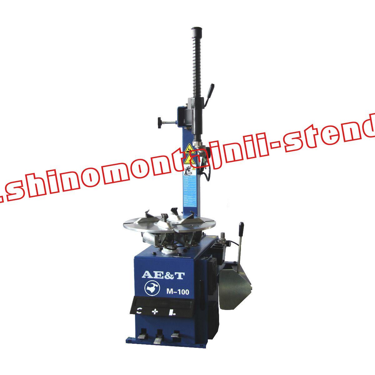Полуавтоматический шиномонтажный стенд AET М-100 (850)