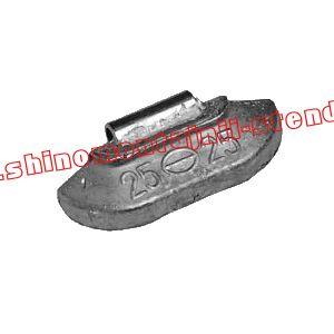 Балансировочный грузик набивной для стальных дисков 25 гр.