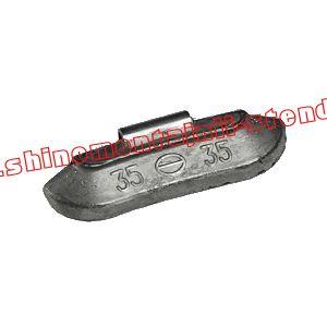 Балансировочный грузик набивной для стальных дисков 35 гр.