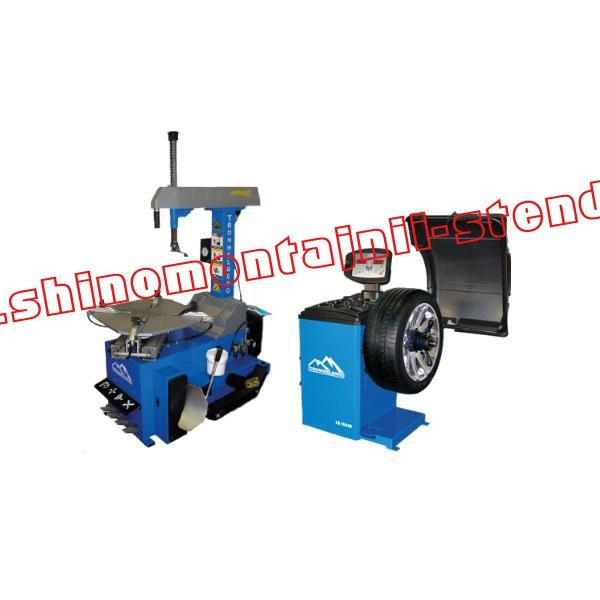 Комплект шиномонтажного оборудования Trommelberg для легковых колес №13