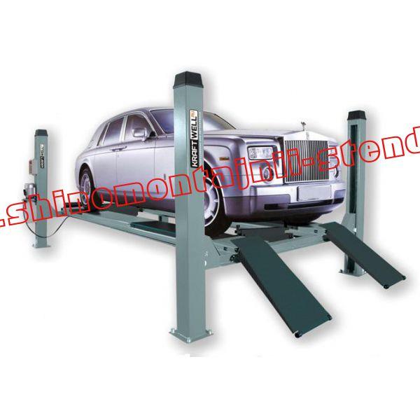 Электрогидравлический четырехстоечный подъемник KraftWell F4.5D-4