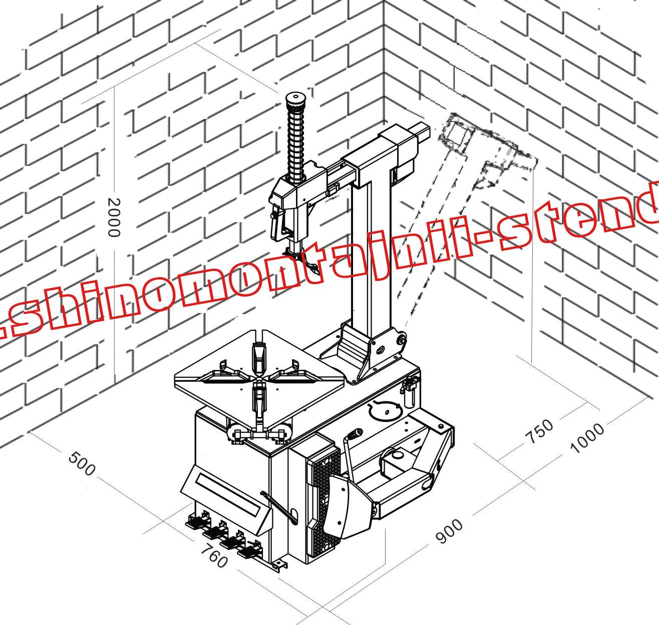 инструкция по обслуживанию шиномонтажного станка троммельберг