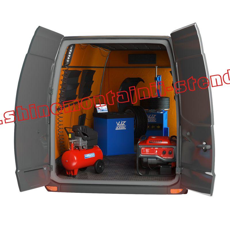 Комплект оборудования для мобильного шиномонтажа №2