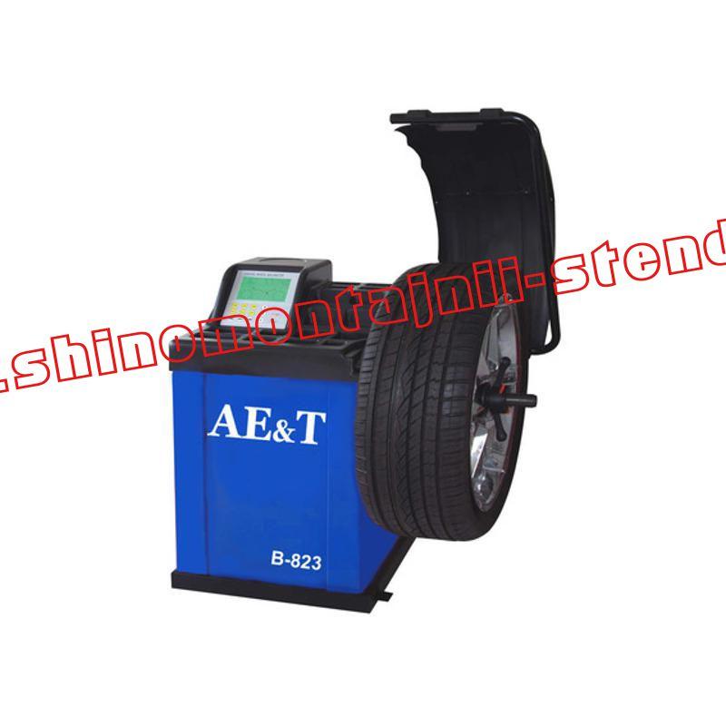 Балансировочный стенд для легковых автомобилей AET B-823