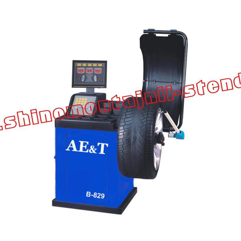 Балансировочный стенд для легковых автомобилей AET B-829
