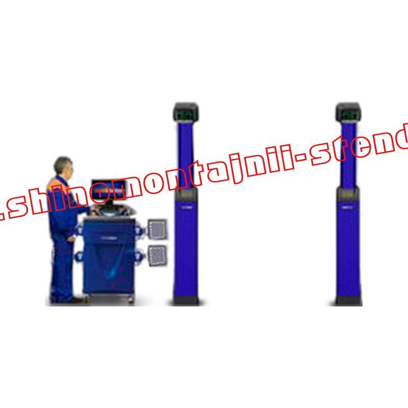 3D стенд сход-развал Техно Вектор V7204H