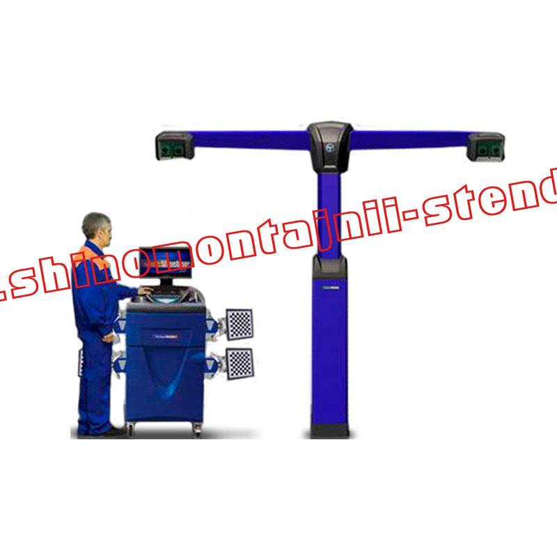 3D стенд сход-развал Техно Вектор V7204T